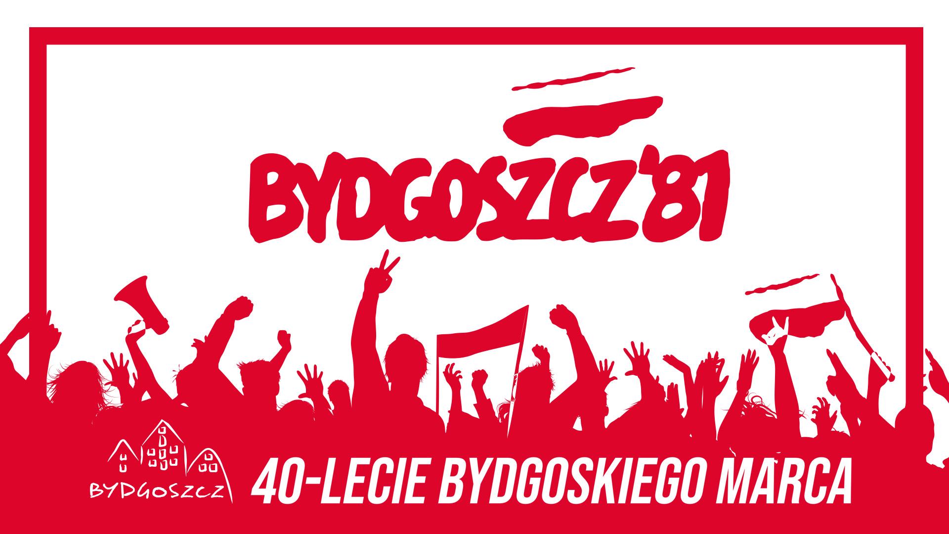 Logo 40-lecie Bydgoskiego Marca'81